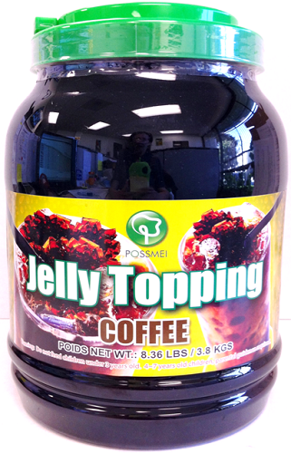 Possmei Bubble Tea Jelly Topping - Magic Coffee [XBT395] - $14.70 ...