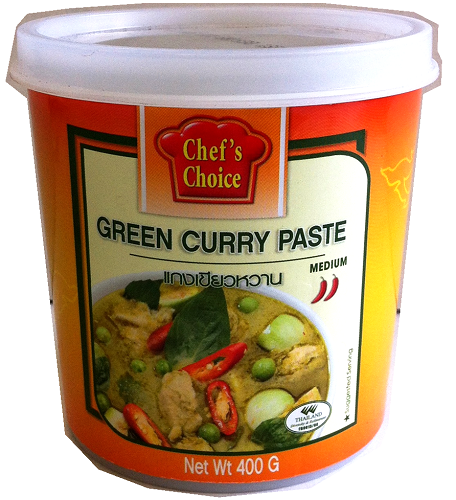 Chef's Choice Curry Paste 400g - Green