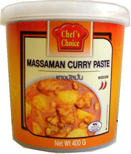 Chef's Choice Curry Paste 400g - Massaman