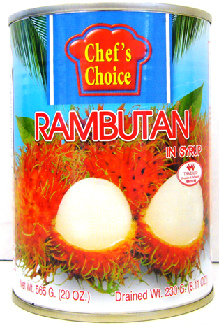 Chef's Choice Tropical Fruits 20oz - Rambutan in Syrup