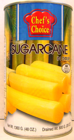 Chef's Choice Tropical Fruits 48oz - Sugar Cane in Syrup