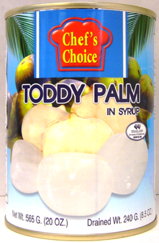 Chef's Choice Tropical Fruits 20oz - Toddy Palm (Whole)