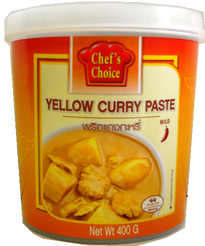 Chef's Choice Curry Paste 400g - Yellow