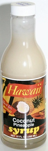Flavors of Hawaii 10oz - Coconut Pineapple Syrup