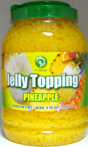 Possmei Bubble Tea Jelly Topping - Pineapple [XBT358] - $13.99 : Hula ...
